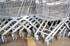 Shenzhen, china: supermarket shopping cart Royalty Free Stock Photos