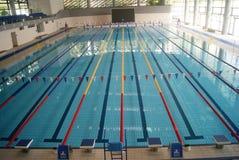 Shenzhen, China: swimming pool Stock Photo