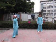 Shenzhen, China: Taijiquan Exercise Stock Images