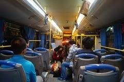 Shenzhen, China: take the bus Royalty Free Stock Image