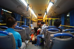 Shenzhen, China: take the bus Stock Photography