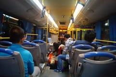 Shenzhen, China: take the bus Stock Photography