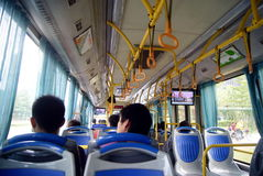 Shenzhen china: take bus travel Stock Photography