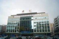 Shenzhen, China: Taxation building Royalty Free Stock Photos