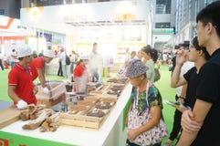 Shenzhen, China: Tea Industry Expo Royalty Free Stock Photo