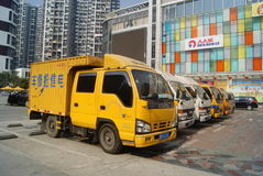 Shenzhen, china: telecom recovery vehicle Stock Photos