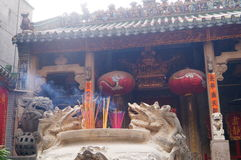 Shenzhen, China: Temple Royalty Free Stock Photo