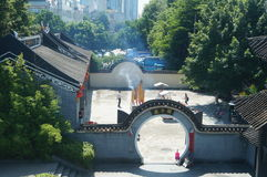Shenzhen, China: Temple Stock Photo