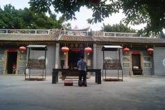 Shenzhen, China: Temple Royalty Free Stock Photo