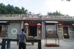 Shenzhen, China: Temple Stock Photo