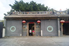 Shenzhen, China: Temple Royalty Free Stock Photography