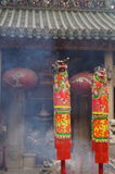 Shenzhen, China: the temple to burn incense to worship Stock Photography