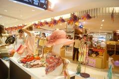 Shenzhen, China: Tianhong shopping plaza Stock Photo