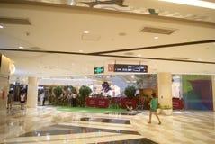 Shenzhen, China: Tianhong shopping plaza Stock Images