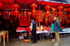 Shenzhen, China: to meet the Spring Festival Flower Market Stock Images