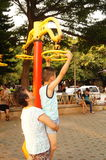 Shenzhen, China: together with the children to leisure and entertainment Royalty Free Stock Image