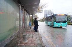 Shenzhen, China: tráfico de ciudad Fotos de archivo