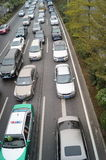 Shenzhen, China: traffic congestion Stock Photos