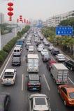 Shenzhen, China: traffic congestion Stock Image
