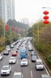 Shenzhen, China: traffic congestion Stock Images