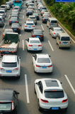 Shenzhen, China: traffic congestion Stock Image