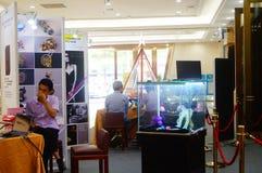 Shenzhen, China: Treasure cube Jewelry Trading Plaza Stock Photography
