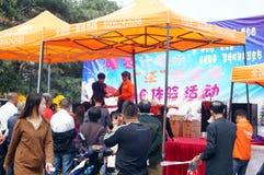 Shenzhen, China: Unicom mobile phone sales Royalty Free Stock Images