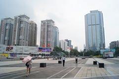 Shenzhen, China: urban construction and traffic landscape Stock Image
