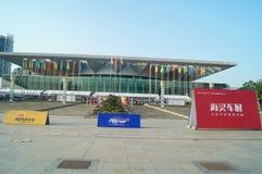 Shenzhen, China: ventas autos de la exposición Imágenes de archivo libres de regalías