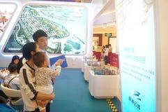 Shenzhen, China: ventas de las propiedades inmobiliarias Imagen de archivo libre de regalías