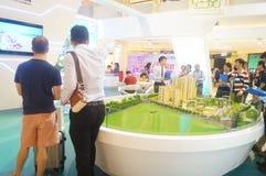 Shenzhen, China: ventas de las propiedades inmobiliarias Fotos de archivo