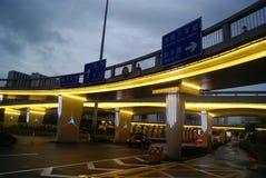 Shenzhen, china: viaduct landscape Stock Photos