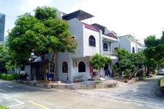Shenzhen china: village house Royalty Free Stock Photos