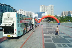 Shenzhen, China: voluntary blood donation activities Stock Images