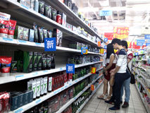 Shenzhen, China: Wal-Mart Fotos de archivo