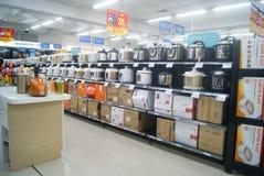 Shenzhen, China: WAL-MART supermarket Royalty Free Stock Photo