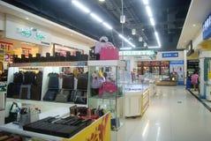 Shenzhen, China: WAL-MART supermarket Stock Images
