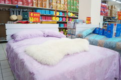 Shenzhen, China: WAL-MART supermarket interior landscape Stock Images