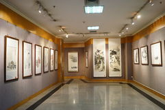 Shenzhen, China: Watercolor Exhibition Stock Images
