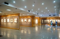 Shenzhen, China: Watercolor Exhibition Royalty Free Stock Image