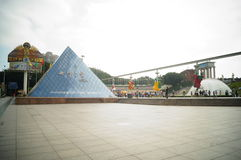 Shenzhen, China: window on the world tourist attractions Royalty Free Stock Image