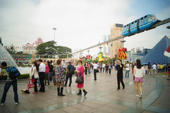 Shenzhen, China: window on the world tourist attractions Royalty Free Stock Photo