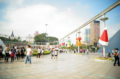 Shenzhen, China: window on the world tourist attractions Royalty Free Stock Photos