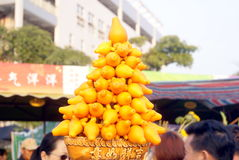 Shenzhen, china: winter jasmine flower market Stock Photo