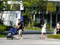 Shenzhen, China: women and children health care hospital Stock Photo