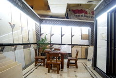 Shenzhen china: xixiang building materials furniture market Royalty Free Stock Photo