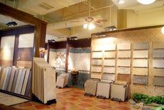 Shenzhen china: xixiang building materials furniture market Stock Image