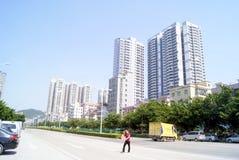 Shenzhen china: xixiang highway landscape Royalty Free Stock Photos
