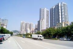 Shenzhen china: xixiang highway landscape Royalty Free Stock Photo