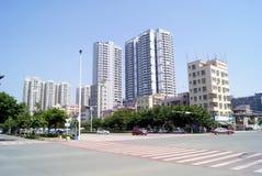 Shenzhen china: xixiang highway landscape Royalty Free Stock Image